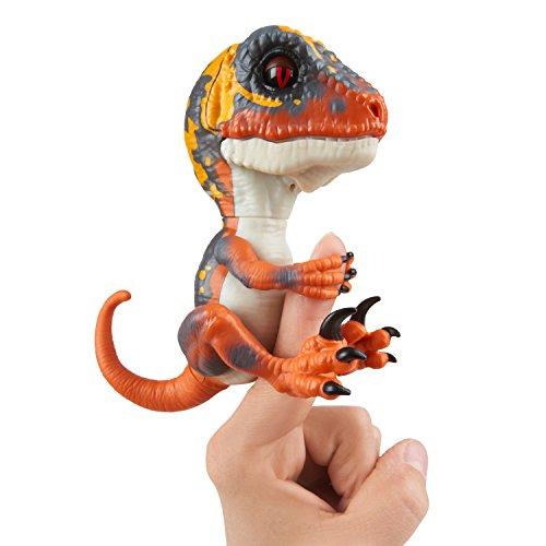 Fingerlings Untamed Velociraptor orange Blaze - 3781 / interaktives Spielzeug, reagiert...