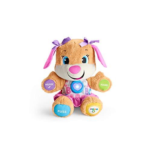 Fisher-Price FPP53 - Lernspaß Hundefreundin Baby Spielzeug und Plüschtier, Lernspielzeug...