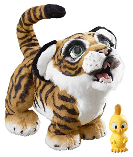 Hasbro FurReal Friends B9071100 Tyler, Der Königstiger, Elektronisches Haustier