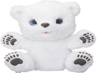 FurReal Friends Eisbärbaby sitzt mit ausgestreckten Armen